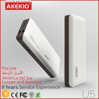Akekio credit card Power bank 10000 for new year gift with cheap price and beautiful shape Portable Ultrathin power bank