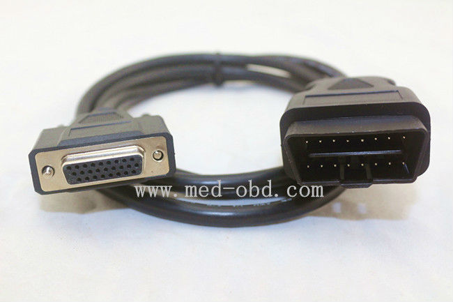 OBDII Cable, 16pin J1962m to DB26 female cable,obd2 to db26 for Honda c