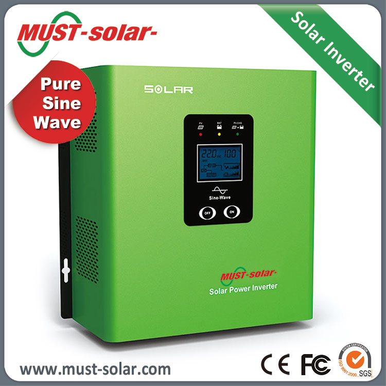 pure sine wave home use mppt solar charge controller inverter with AVR 24v battery charger 30a