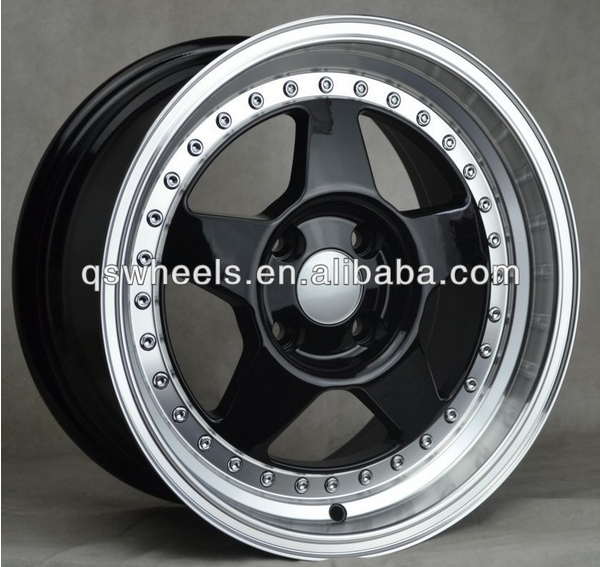 15 inch 8 hole deep dish alloy wheel chrome alloy wheels 4x100 chrome rim for sale view 15 inch. Black Bedroom Furniture Sets. Home Design Ideas