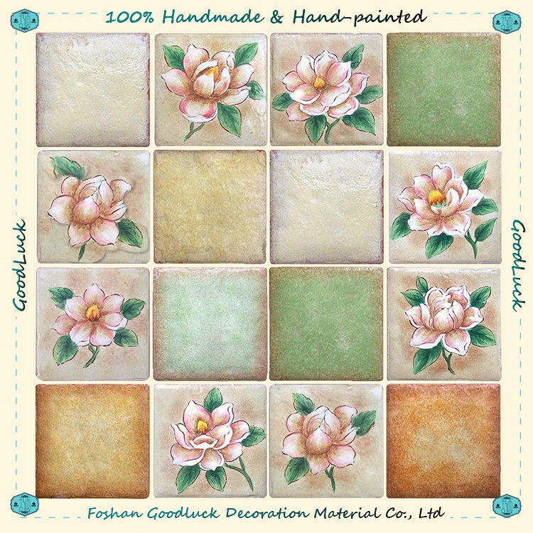 Hot Fashion Design Ceramic Mosque 6X6 Ceramic Square Meter Price Tile