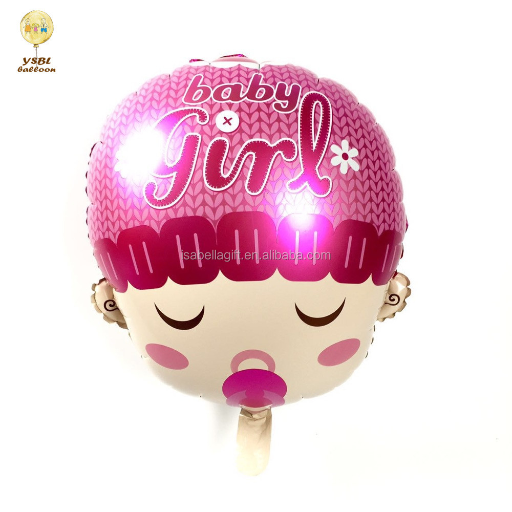 Yiwu factory wholesale little prince 18 inch size baby birthday balloons