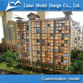 3D Real estate design model / architectural scale model making / construction models