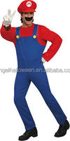 Sexy super mario costume for halloween with competitive price AGM2304