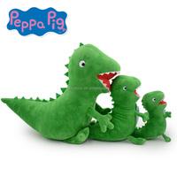 pegge george's big dinosaur green dinosaur plush toy pegge's toy