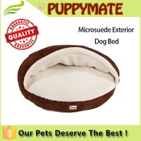 Pet cave wholesale china soft warm cozy luxury dog house bed
