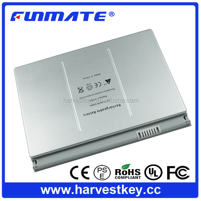 BATTERY FOR APPLE MACBOOK PRO 17 INCH rechargeable battery for APPLE A1189 battery A1151 A1212 A1229 A1261 MA458