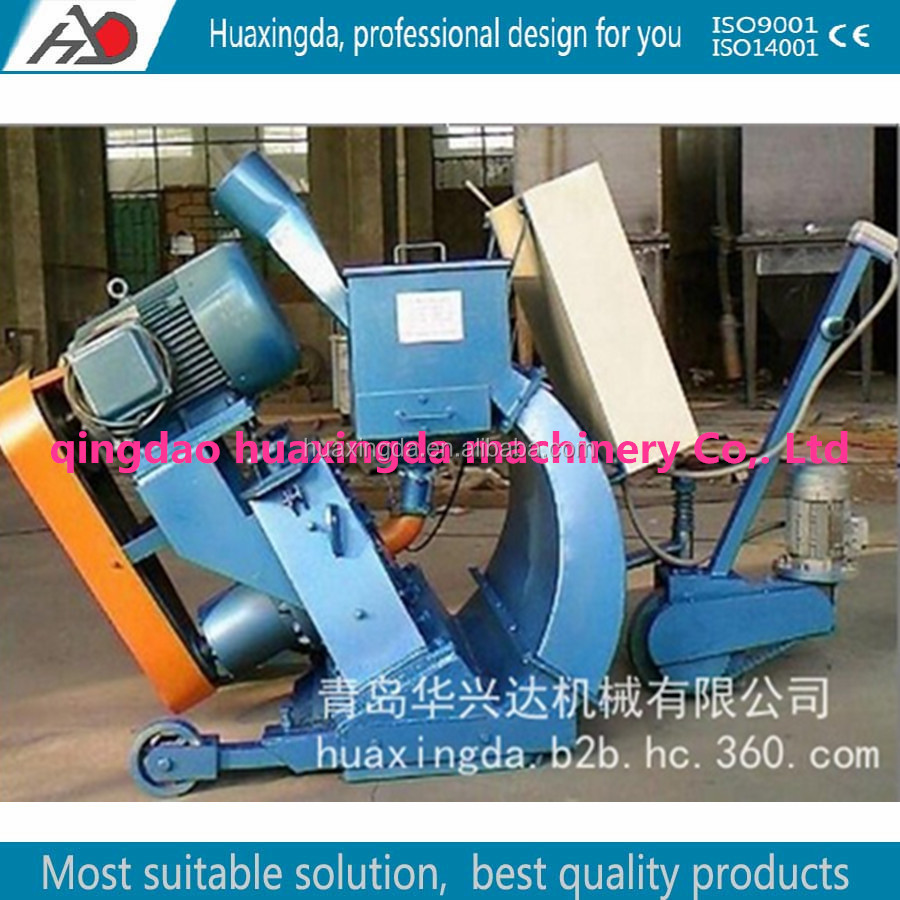 bridge surface shot blasting machine/bridge cleaning equipment