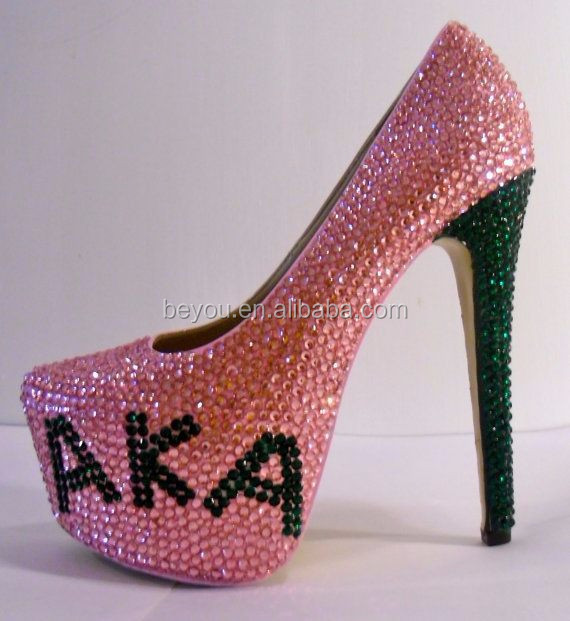 Rhinestone shoe for AKA Bling Shoes Diamante shoes High Heels in sizes UK 3-8 any colour