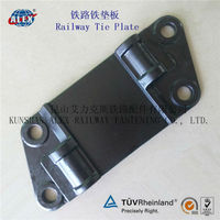 Rail Sole Plate For Train, Cast Iron Rail Sole Plate, Casting Iron Rail Sole Plate