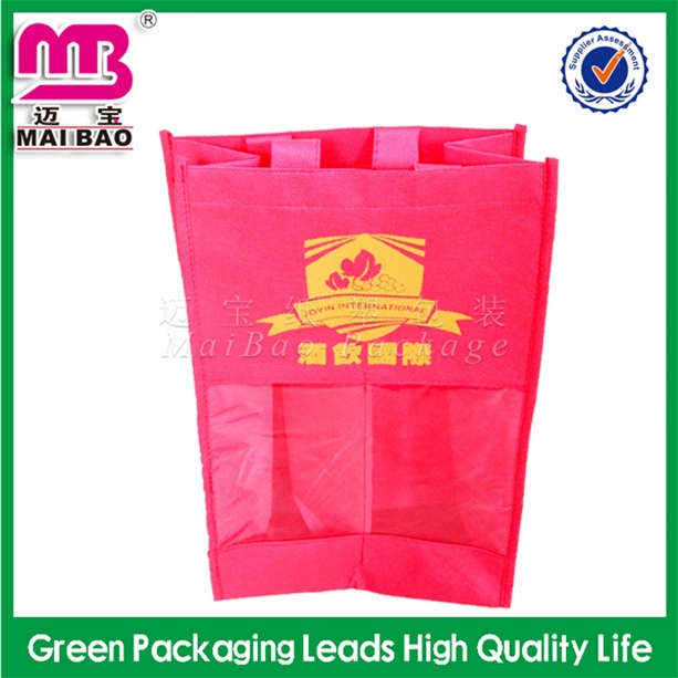 alternative printing high quality non woven drink carry bags