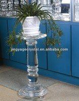 Glass Pillars Flowers Stand