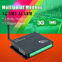 Waterproof Multipoint Modbus 3G Data Logger sms remote control