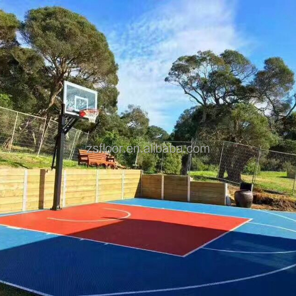 Professional portable basketball court used basketball floors for sale