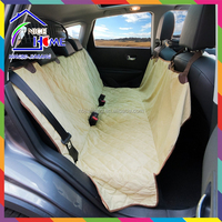 Microvelvet Sand Pet Travel Hammock Dog Car Seat Cover