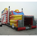 China Guangzhou factory produced truck inflatable obstacle course