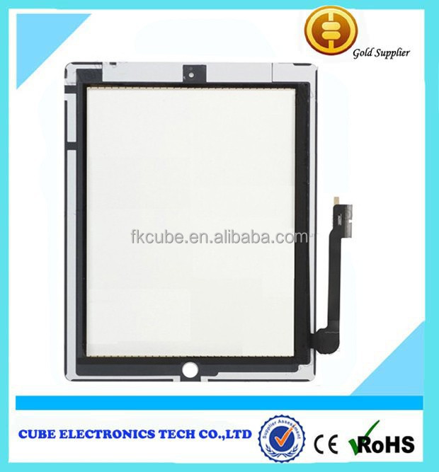 repair accessories repalcement parts for Ipad 4 touch screen digitizer