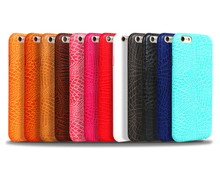 Crocodile Grain PU Leather water sticker Mobile Phone Cover for iPhone 6,WholeSale Mobile phone cover for iPhone 6