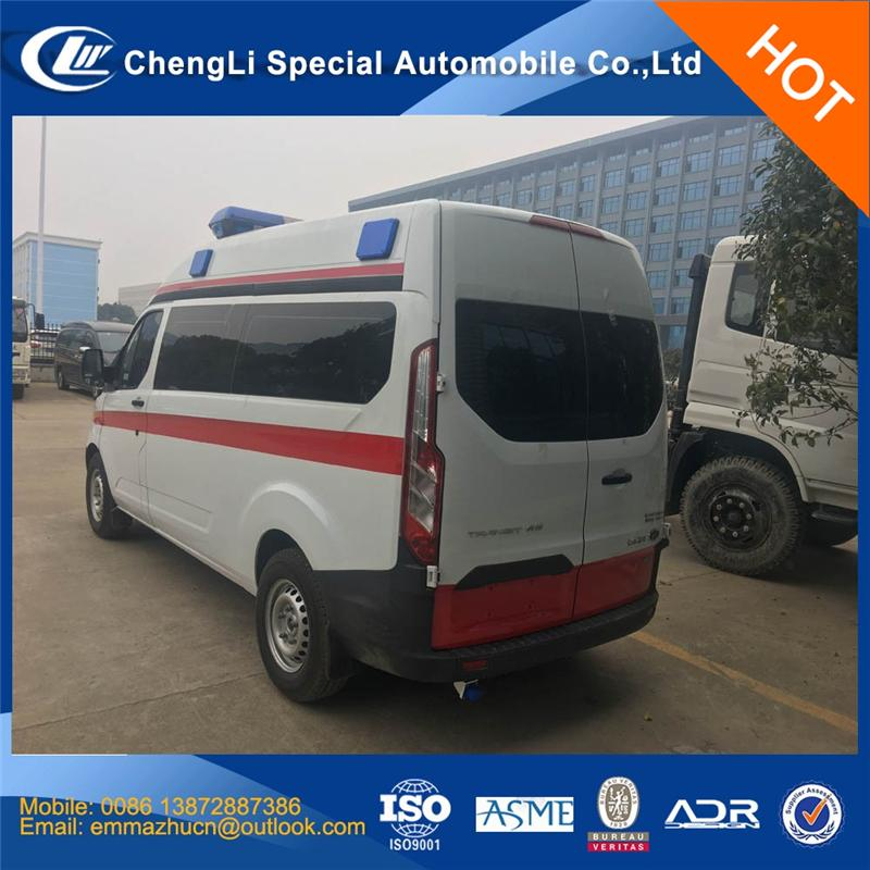 New design Emergency ambulance with high quality