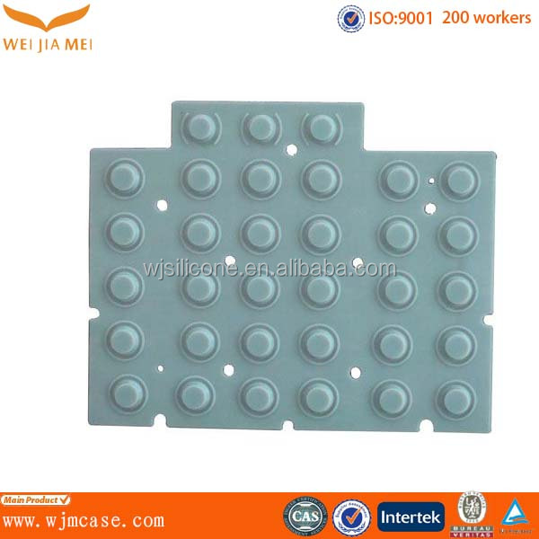 Silicone Rubber keypad button