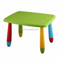 Rectangle kids study table,baby toys plastic table
