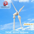 Hopeful WInd Energy 5kw wind power off-grid system supplies