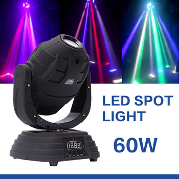 Professional lighting 10/16 CH 60W led mini moving head
