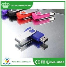 Cheap bulk items promotional custom logo metal pen drive 1gb 2gb 4gb 8gb key pendrive Swivel usb flash drive