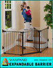 Metal Iron Safety Auto-lock Fence for Baby and Pets