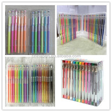 Kids favorite paint pens/glitter pen sets/glitter pen with hard box