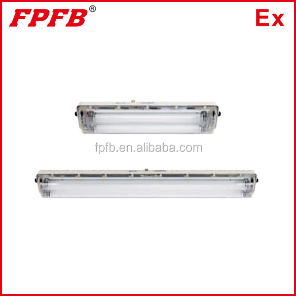 BYS IP66 LED Explosion proof GRP enclosure full plastic lighting fixture