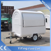 YY-FR220B China wholesale mobile food trailer china mini trucks for sale