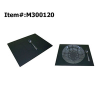 rubber oval table placemats