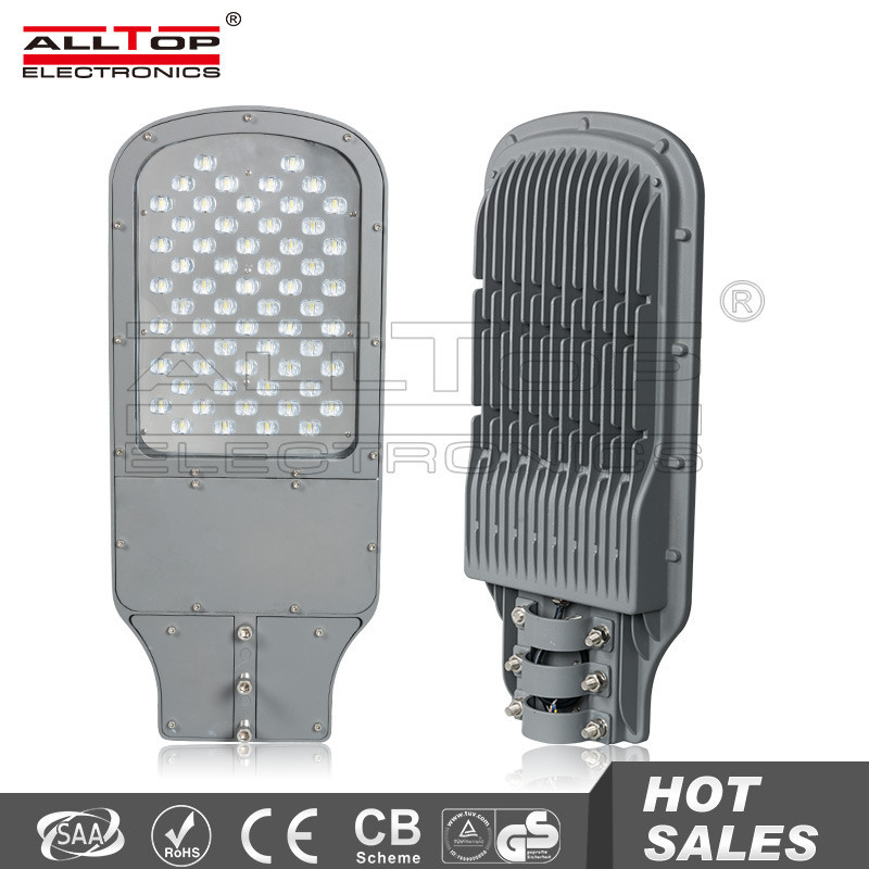 Outdoor IP65 waterproof bridgelux cob 60w street led light solar