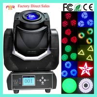 Christmas/Club/DJ/Nightclub/Disco/Bar Lighting 6/15CH 3 Facet Prism Rotating Gobo 60 watt Mini 60w LED Moving Head Spot