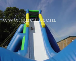 Commercial inflatable slip and slide, giant inflatable hippo slide for adult G4110