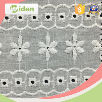 Wholesale Cotton Knitted Lace Fabric