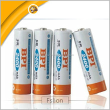 1.2V 2400MAH NI-MH AA Battery with factory price