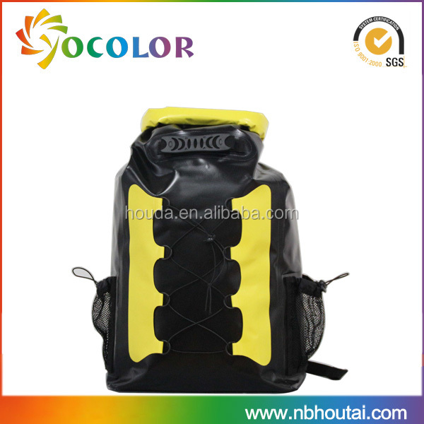 Outdoor travelling backpack large volumn waterproof dry bag shoulder bag knapsack