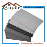 Low Cost White Black Color Fiber Cement Siding