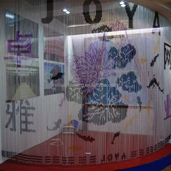 Metal Hotel Chain Curtain for decoration