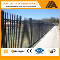 security fence-021 aluminum fence privacy fence,wrought iron railing parts