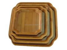 Small exquisite high quality bamboo lap tray