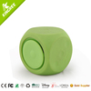 small dice portable waterproof speaker with bluetooth for option