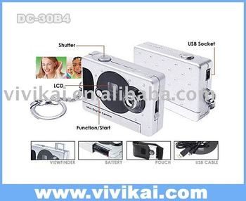 the mini 300K pixels CMOS digital camera for gift promotion use