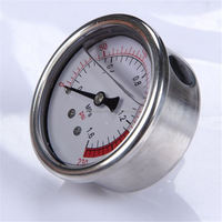 New Design Durable Light Weight Easy To Read Clear Air Pressure Gauge Meter Vacuum Manometer Double Scale