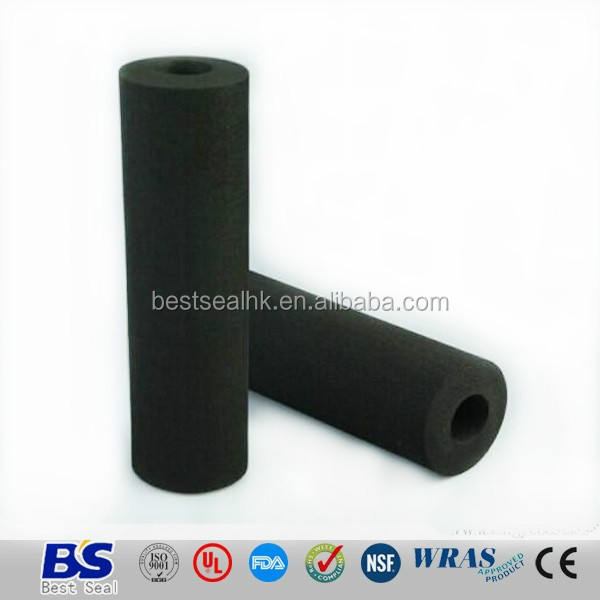 Rubber foam sleeve