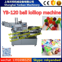 YB-120 Automatic Ball Lollipop Packaging Machine/lollipop wrapping machine