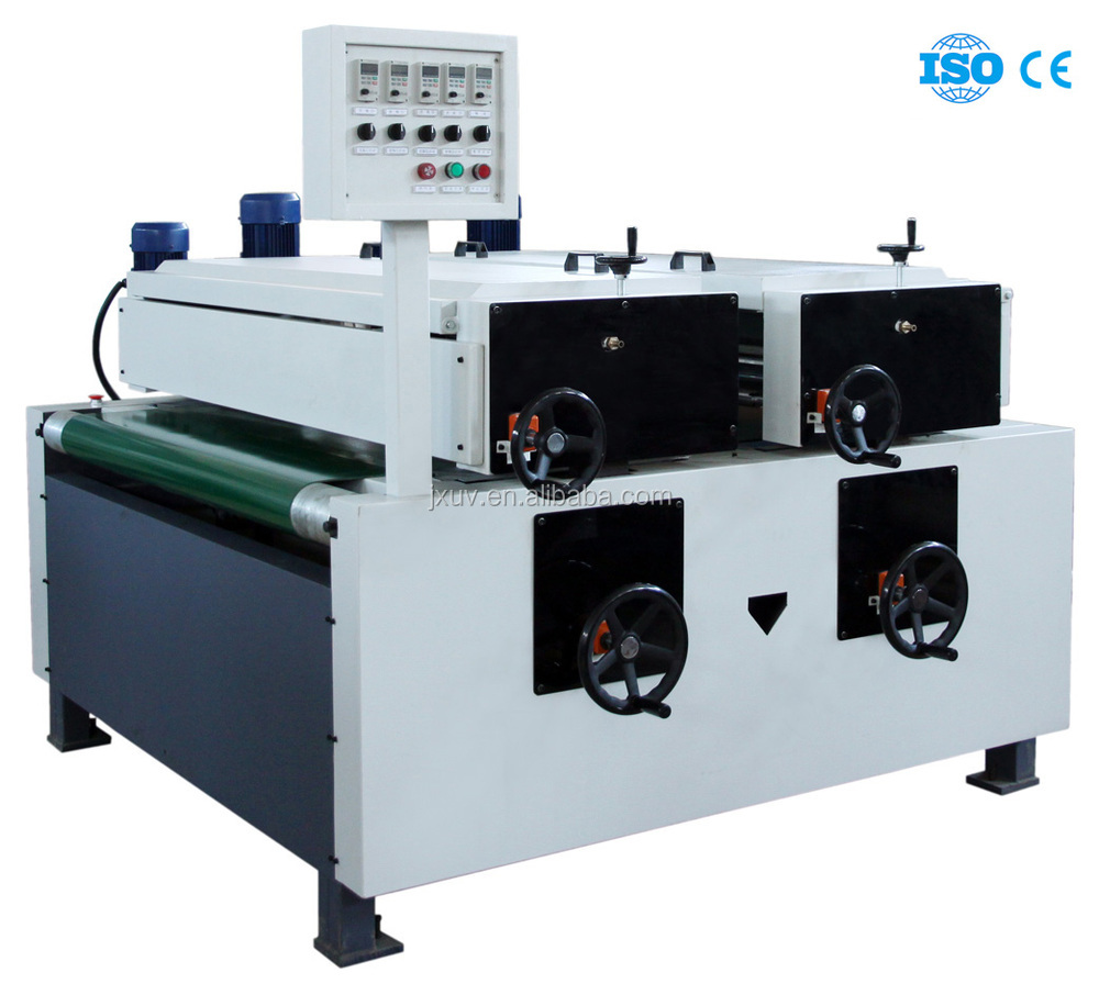 single roller/wood painting machine/uv coating for wood