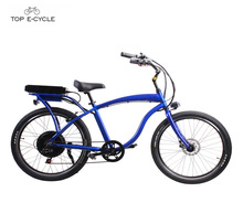 Adult chopper cheap motorized beach cruiser bicycles/ ebike/ bike
